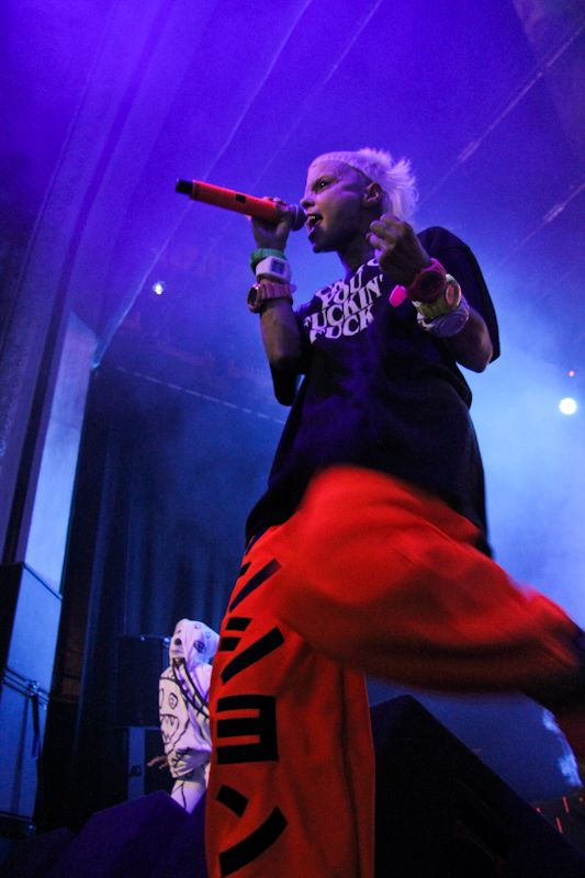 Die Antwoord in the Olympia on 20_06_2013 by Yan Bourke_35