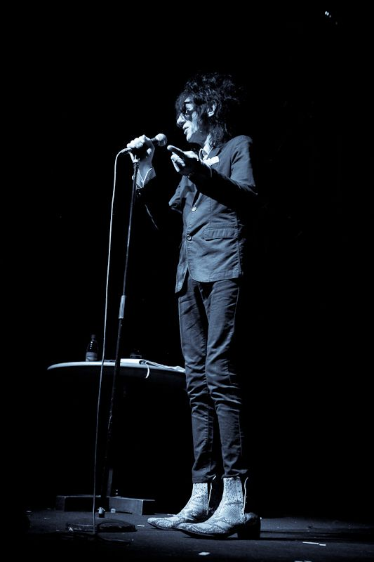 JohnCooper Clarke at The Button Factory on 14 June 2013 (12)