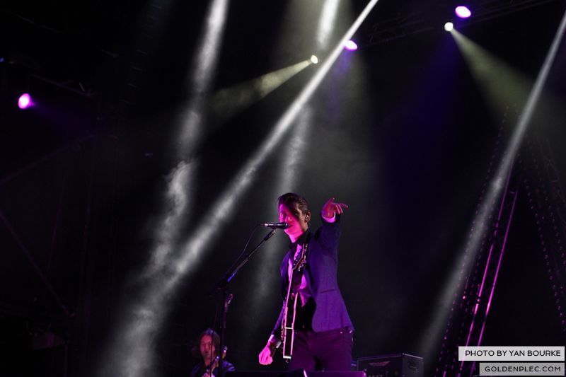 Arctic Monkeys at Electric Picnic by Yan Bourke on 010913_11