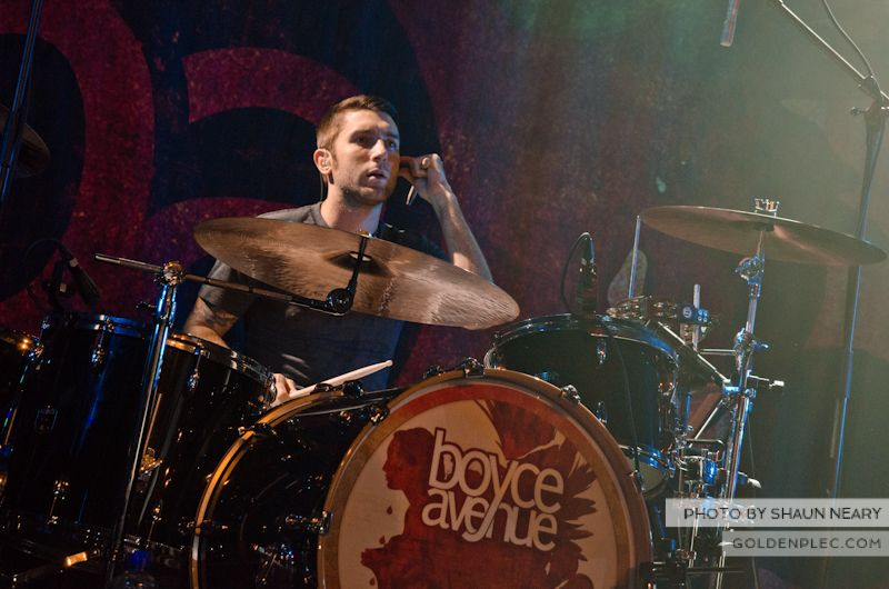 Boyce Avenue at The Academy on September 15th 2013-01