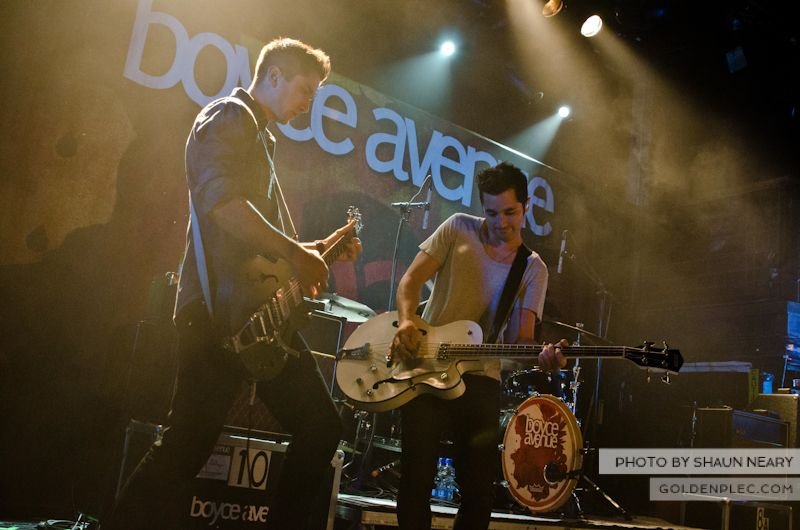 Boyce Avenue at The Academy on September 15th 2013-03