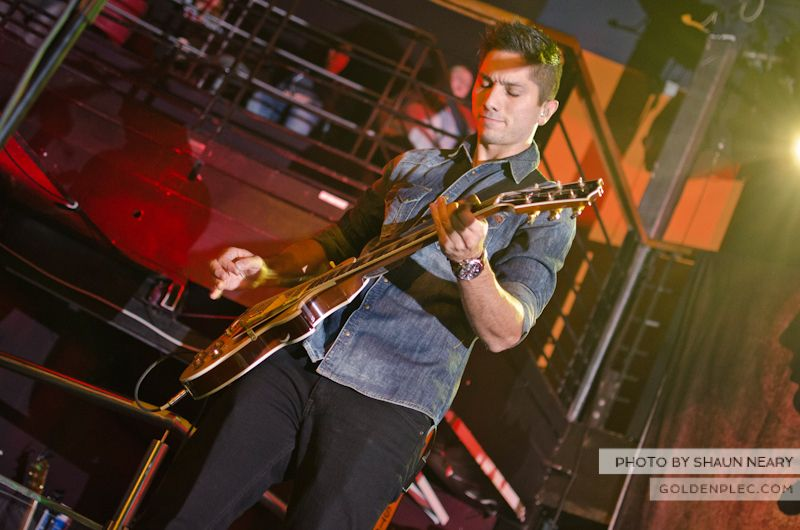Boyce Avenue at The Academy on September 15th 2013-05