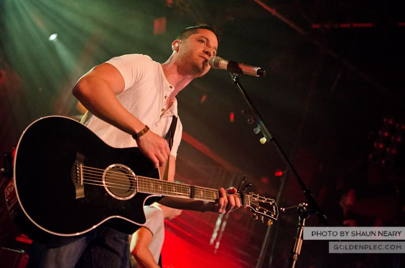 Boyce Avenue at The Academy on September 15th 2013-07