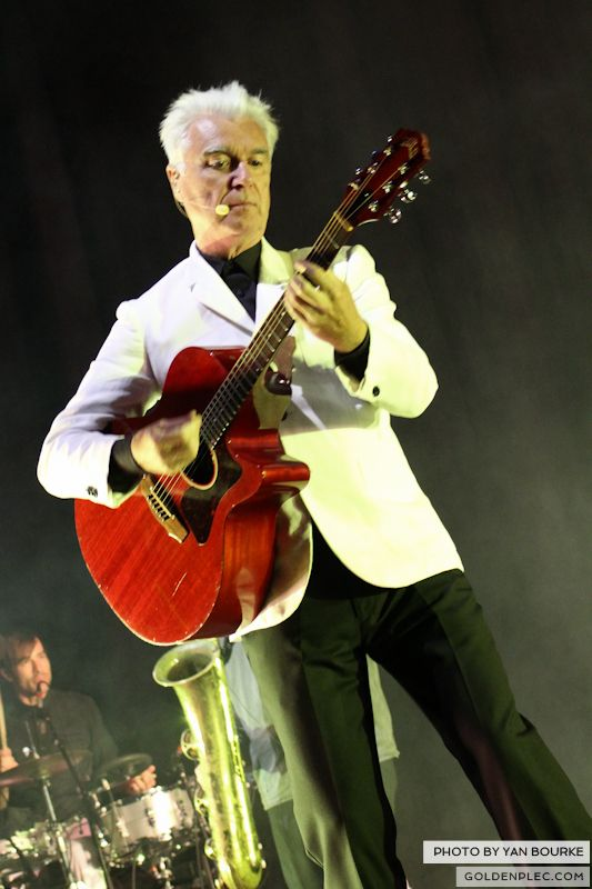 David Byrne and St Vincent at Electric Picnic by Yan Bourke on 010913_01