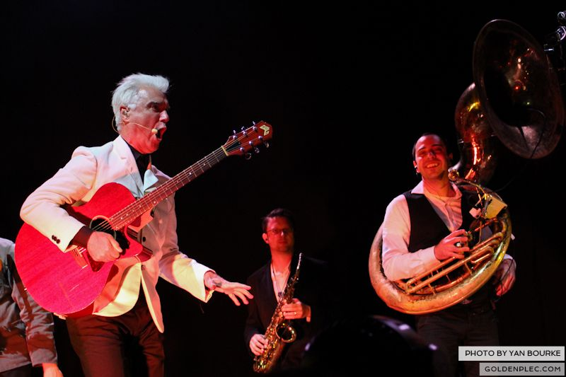 David Byrne and St Vincent at Electric Picnic by Yan Bourke on 010913_04