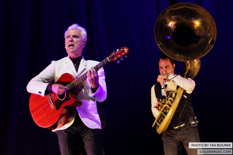David Byrne and St Vincent at Electric Picnic by Yan Bourke on 010913_06