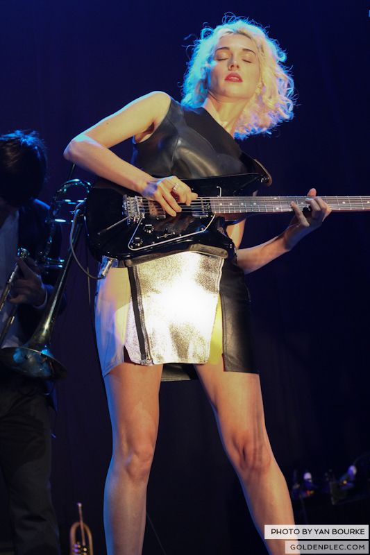 David Byrne and St Vincent at Electric Picnic by Yan Bourke on 010913_29