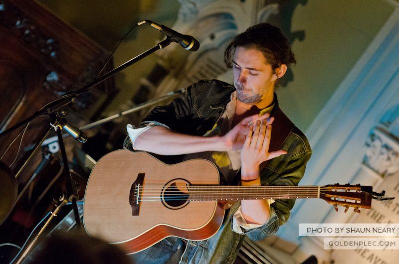 Hozier at Unitarian Church on September 10th 2013-01