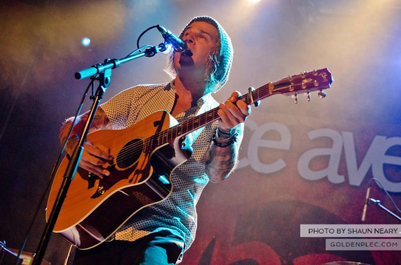 Ryan Cabrera at The Academy on September 15th 2013-1