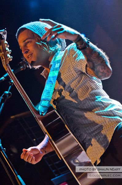 Ryan Cabrera at The Academy on September 15th 2013-7