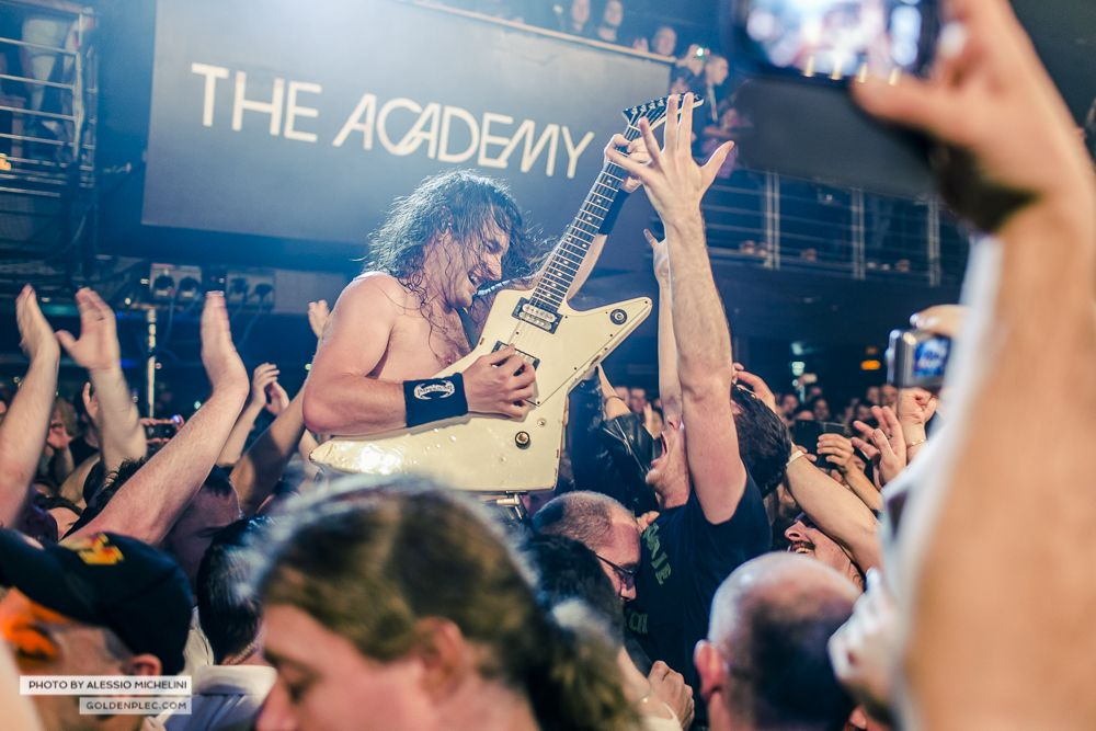 Airbourne at The Academy by Alessio Michelini