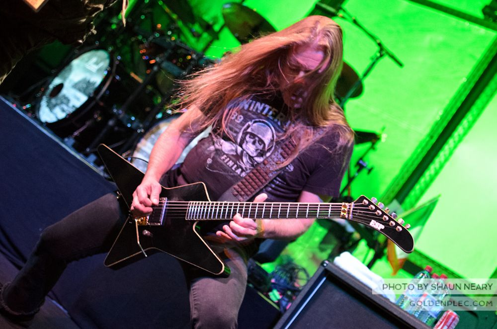 Children of Bodom at Vicar Street on October 10th 2013-14