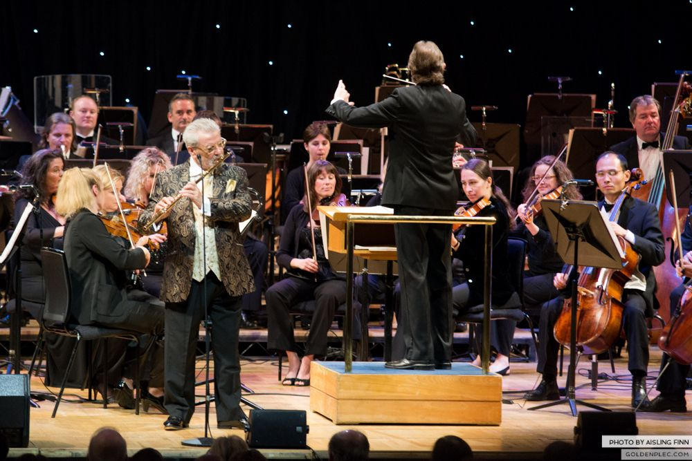 JAMES GALWAY AT THE NCH 05.10.2013-1-15
