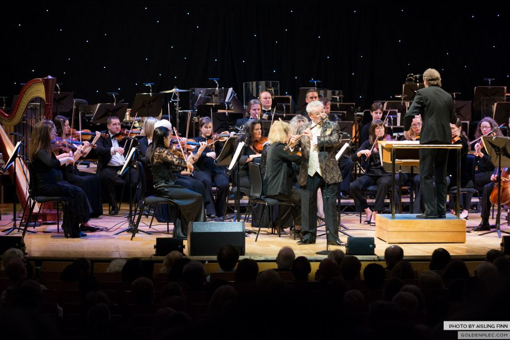 JAMES GALWAY AT THE NCH 05.10.2013-1-19