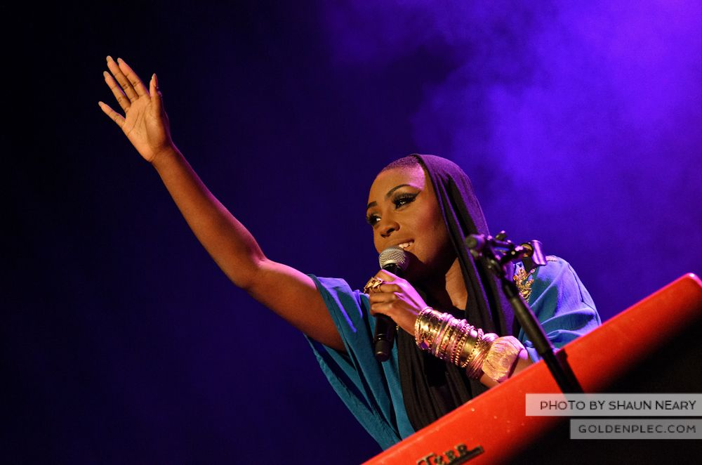 Laura Mvula at The Olympia Theatre on October 12th 2013-10