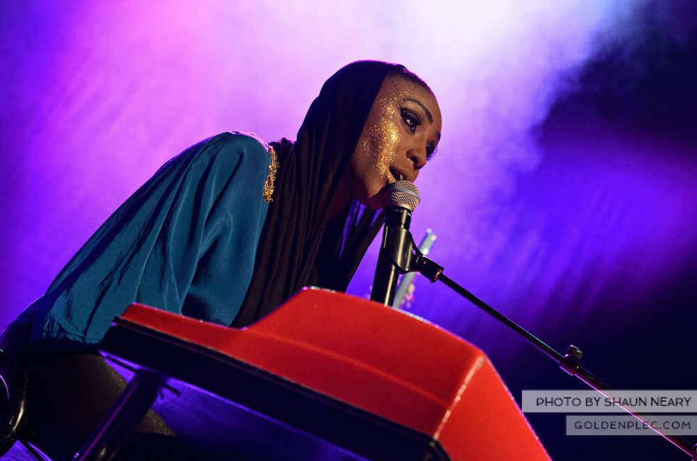 Laura Mvula at The Olympia Theatre on October 12th 2013-12