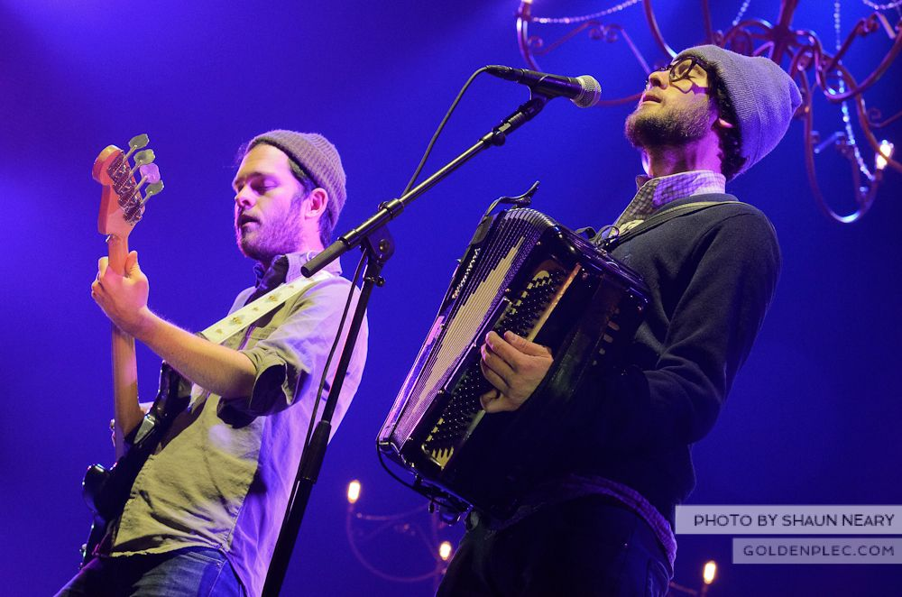 The Lumineers at The o2 Dublin on November 21st 2013-20