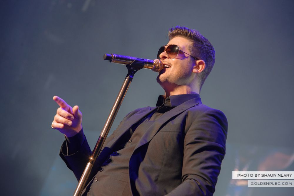 Robin Thicke at The o2, Dublin on January 16th 2014-04