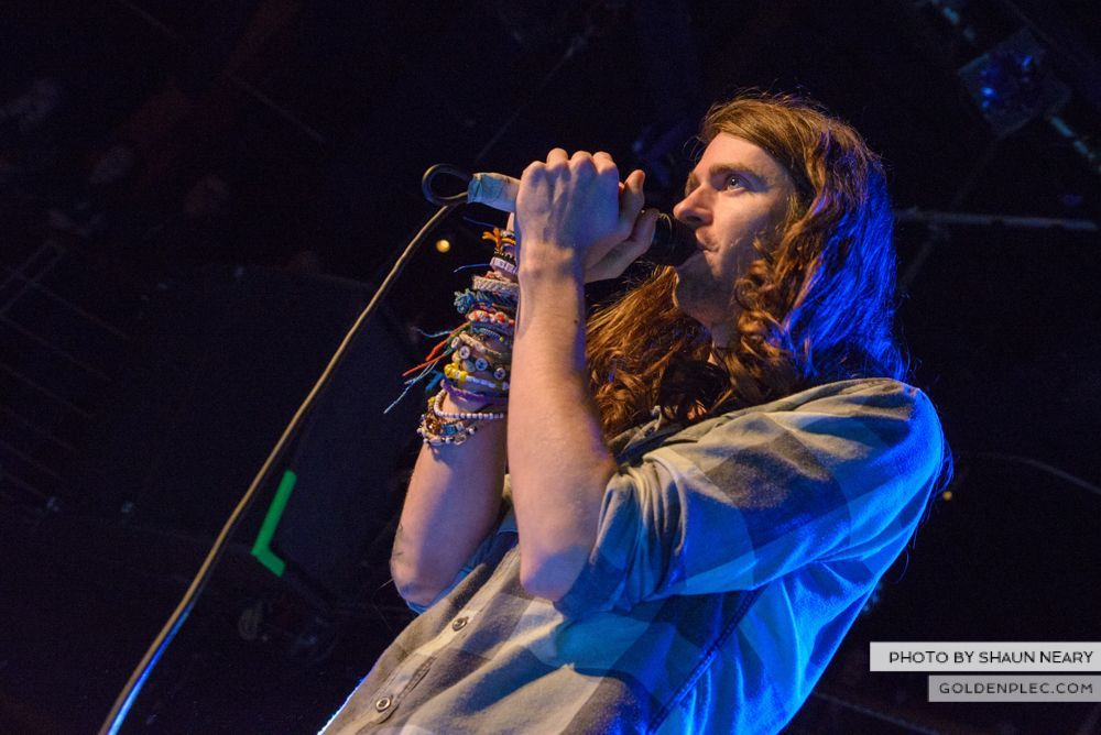 Mayday Parade at The Academy, Dublin on February 1st 2014-01