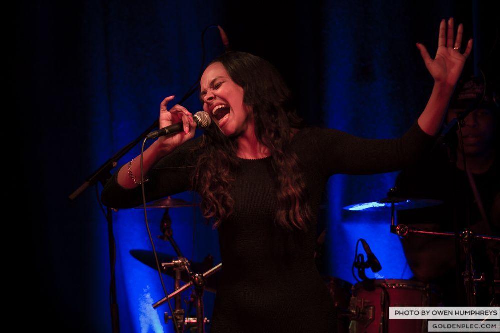 Samantha Mumba at Monroe's, Galway on 21-2-14 (15 of 16)