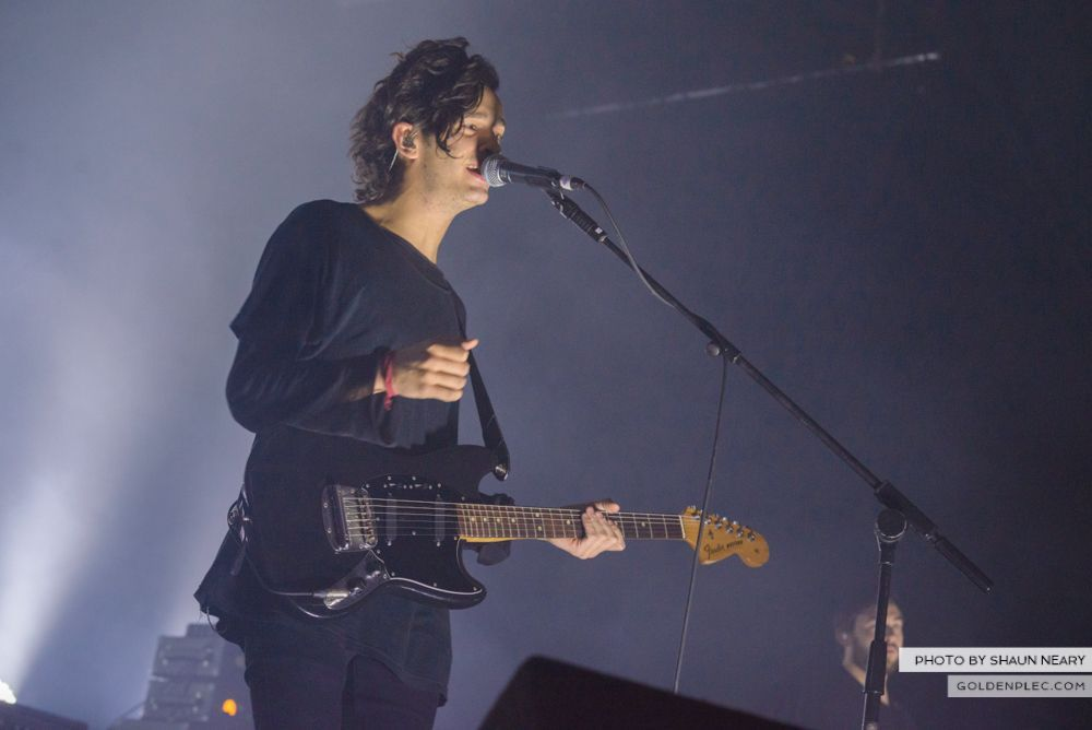 The 1975 at The Olympia Theatre, Dublin on February 21st 2014-06
