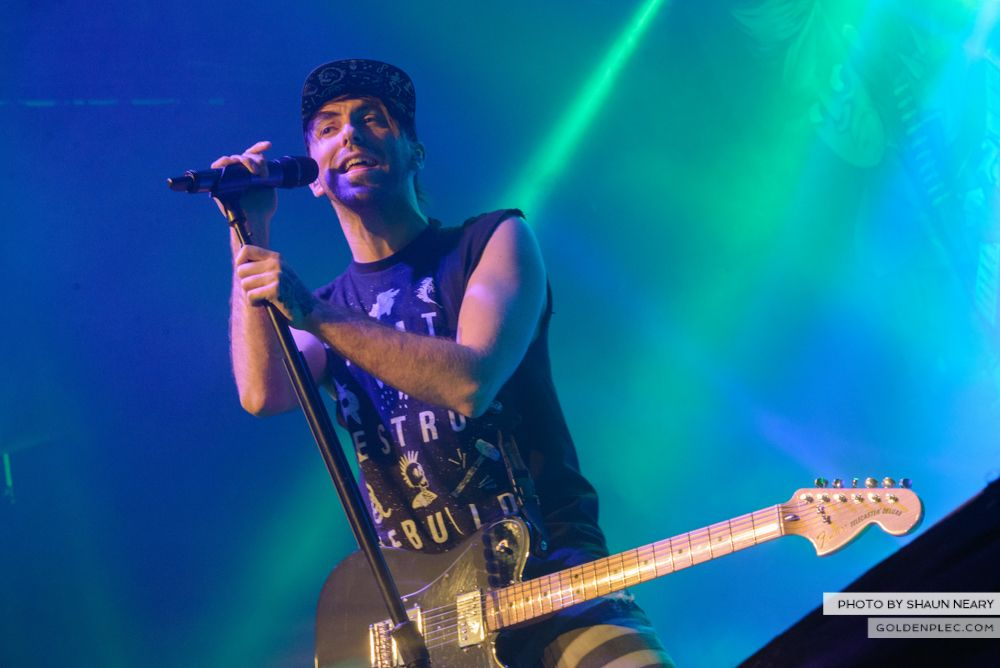All Time Low at The Olympia Theatre, Dublin on March 19th 2014-04