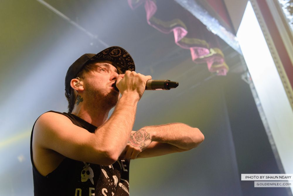 All Time Low at The Olympia Theatre, Dublin on March 19th 2014-19