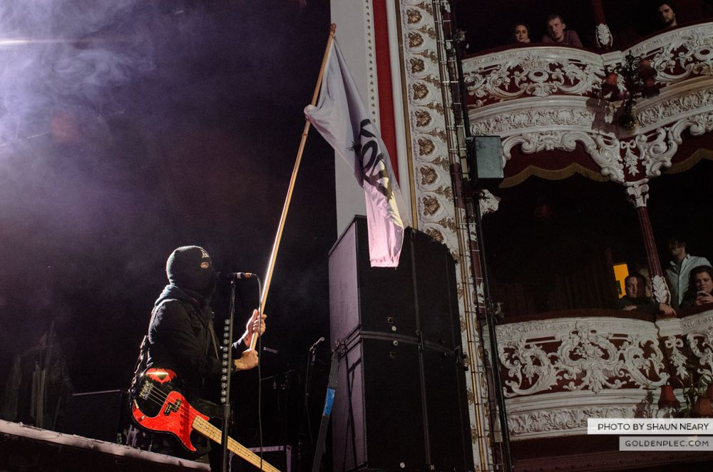 Fall Out Boy at The Olympia Theatre, Dublin on March 18th 2014-01