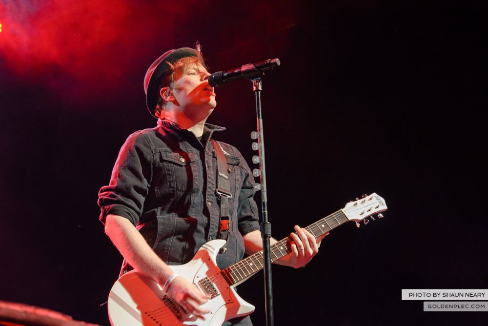 Fall Out Boy at The Olympia Theatre, Dublin on March 18th 2014-13