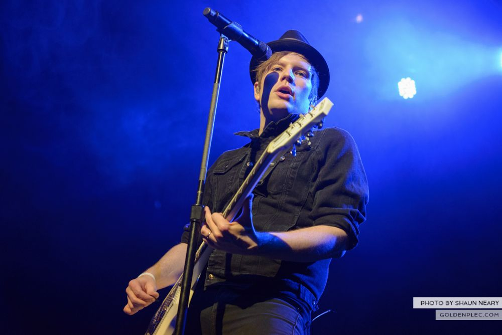 Fall Out Boy at The Olympia Theatre, Dublin on March 18th 2014-21
