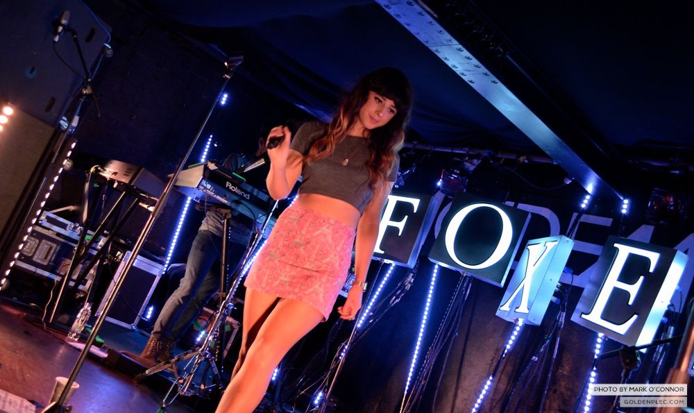 Foxes at Academy 2 by Mark O' Connor