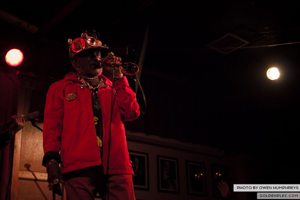 Lee Scratch Perry @ Roisin Dubh on 18-3-14 (12 of 14)