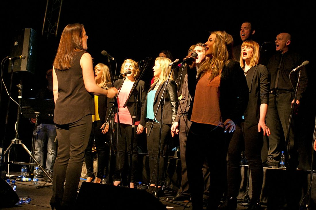 GP – Dublin Gospel Choir – The Button Factory – Abraham Tarrush (6)