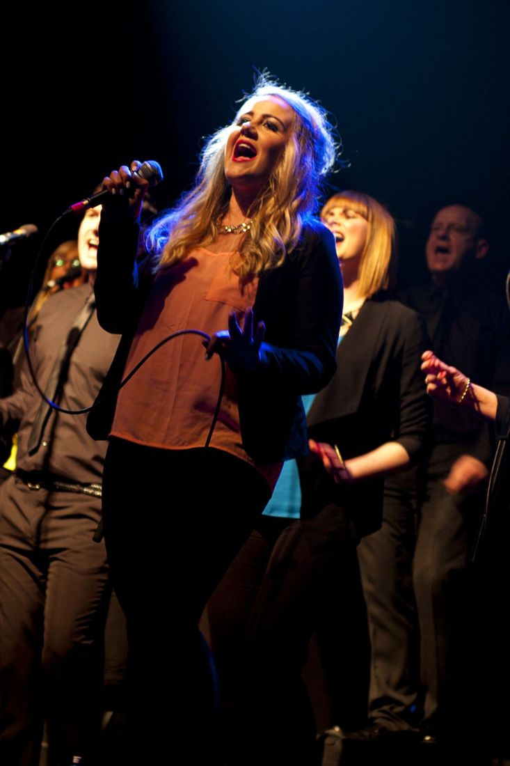 GP – Dublin Gospel Choir – The Button Factory – Abraham Tarrush (7)