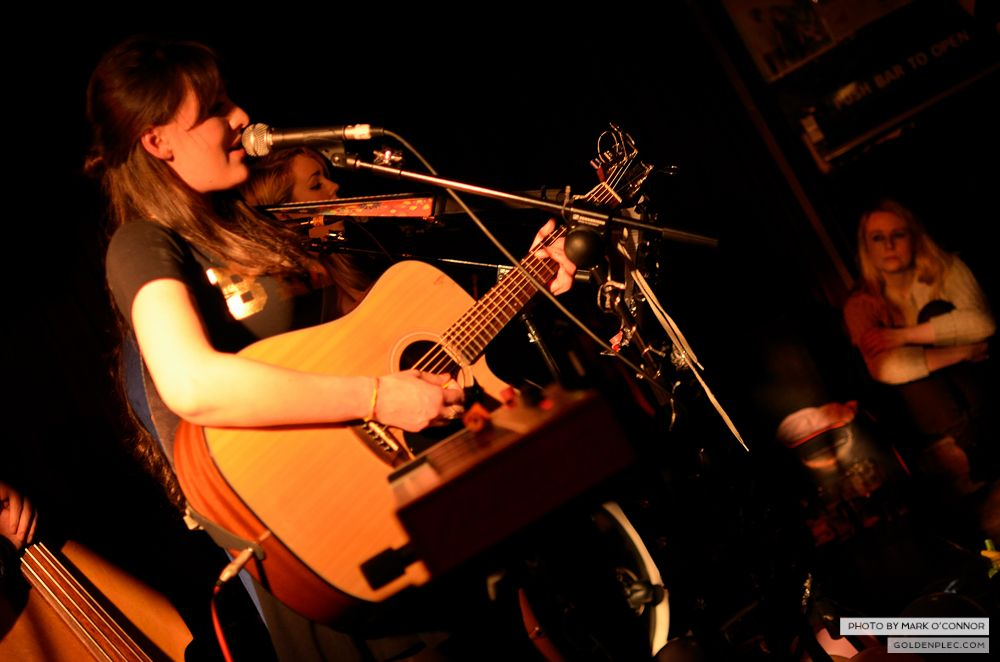 Sinead White and Band at Whelans by Mark O' Connor