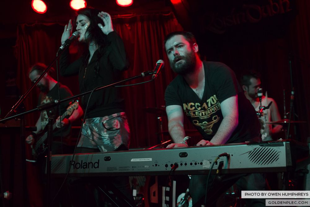 Fight Like Apes at Roisin Dubh's 10th Birthday by Owen Humphreys (3 of 5)