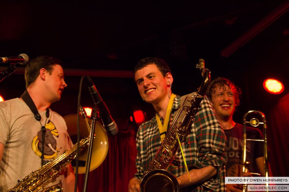 Booka Brass Band at the Roisin Dubh – Galway Arts Festival by Owen Humphreys (3 of 26)