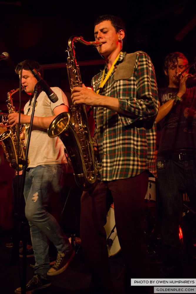 Booka Brass Band at the Roisin Dubh – Galway Arts Festival by Owen Humphreys (8 of 26)