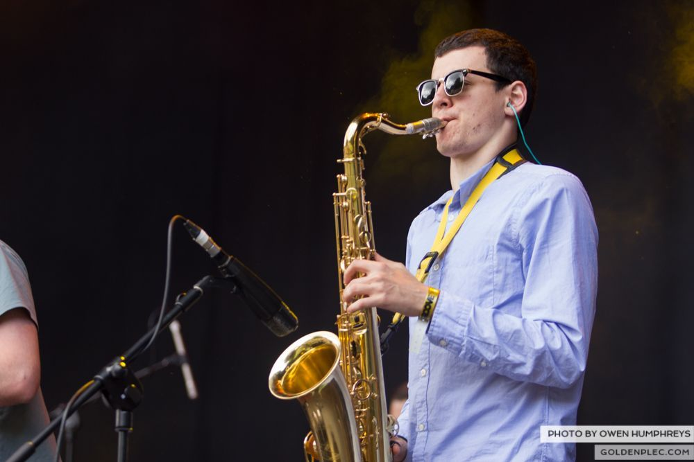 Booka Brass Band ft. Jerry Fish at Groove Festival 2014 (11 of 13)