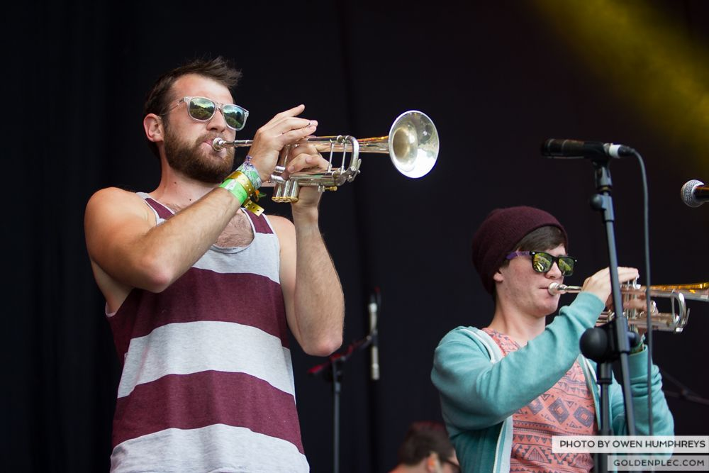 Booka Brass Band ft. Jerry Fish at Groove Festival 2014 (9 of 13)