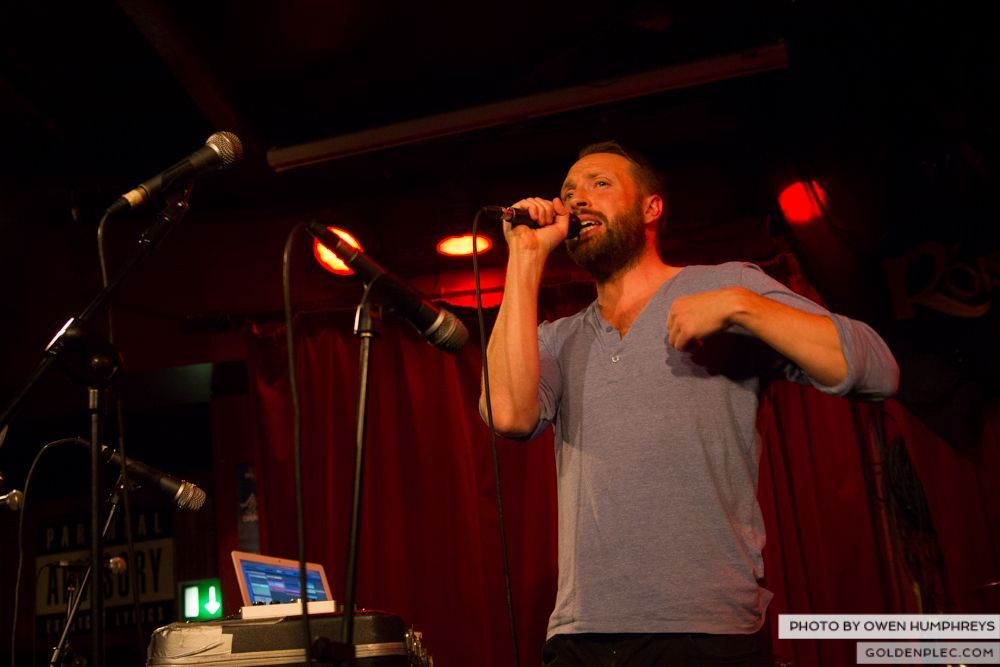 Brian Deady at the Roisin Dubh – Galway Arts Festival by Owen Humphreys (2 of 6)