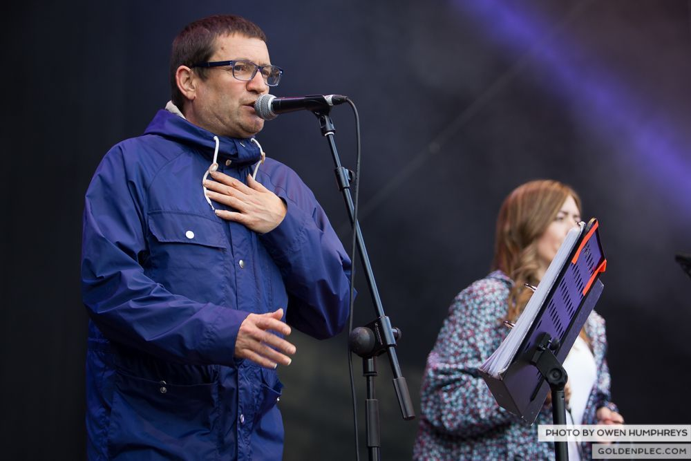 Paul Heaton and Jacqui Abbott at Groove Festival 2014 (3 of 8)