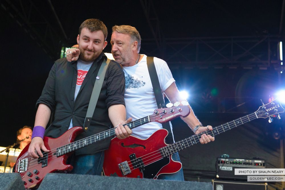 Peter Hook & The Light at Leopardstown Racecourse, Dublin on July 10th 2014 by Shaun Neary-08
