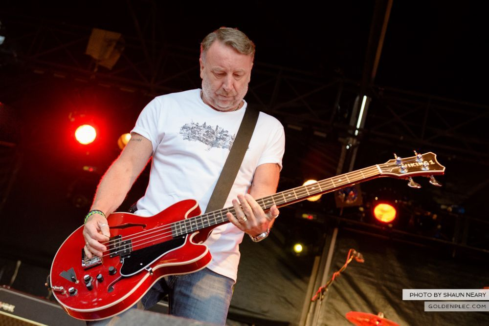 Peter Hook & The Light at Leopardstown Racecourse, Dublin on July 10th 2014 by Shaun Neary-18
