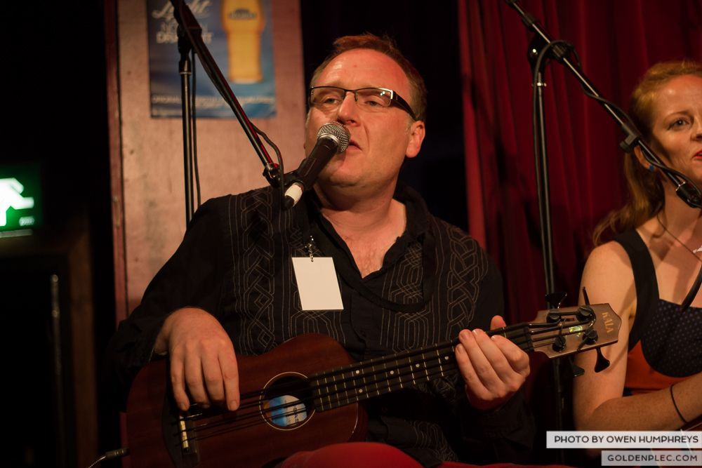 West Cork Ukulele Orchestra at the Roisin Dubh – Galway Arts Festival by Owen Humphreys (3 of 15)