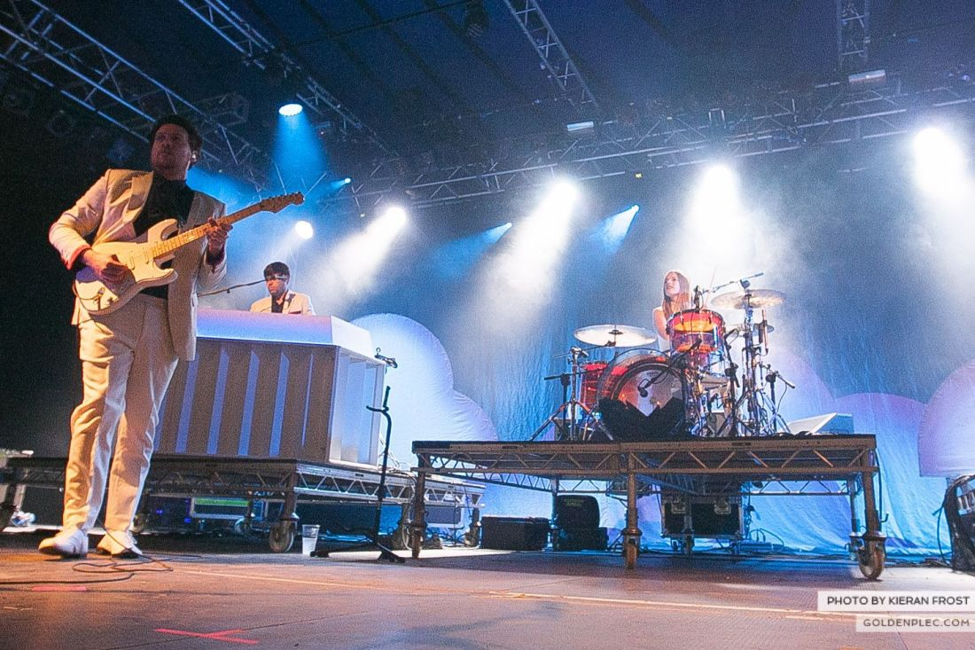 Metronomy at Electric Picnic by Kieran Frost