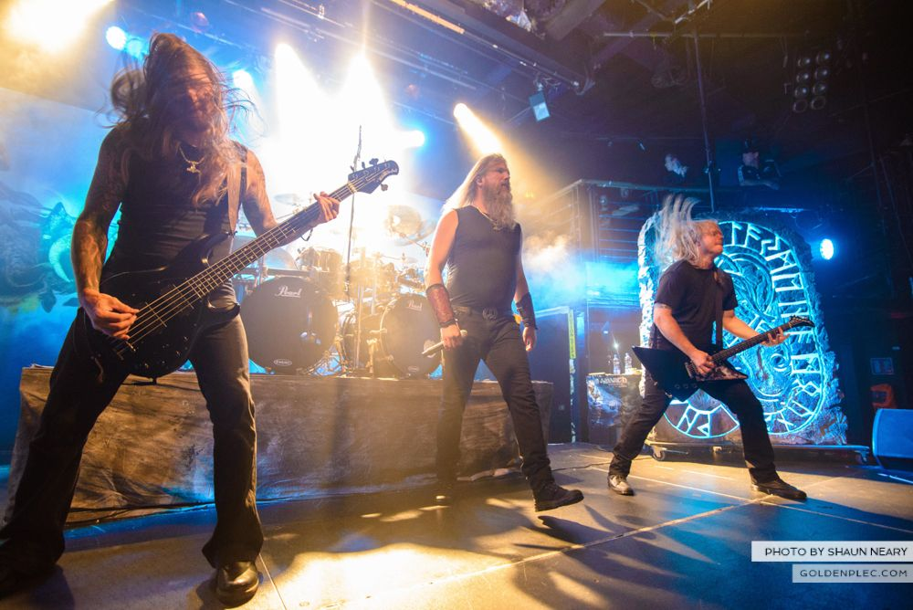 Amon Amarth at The Academy, Dublin on August 13th 2014 by Shaun Neary-04