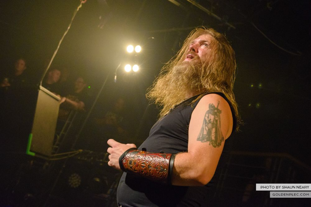 Amon Amarth at The Academy, Dublin on August 13th 2014 by Shaun Neary-11