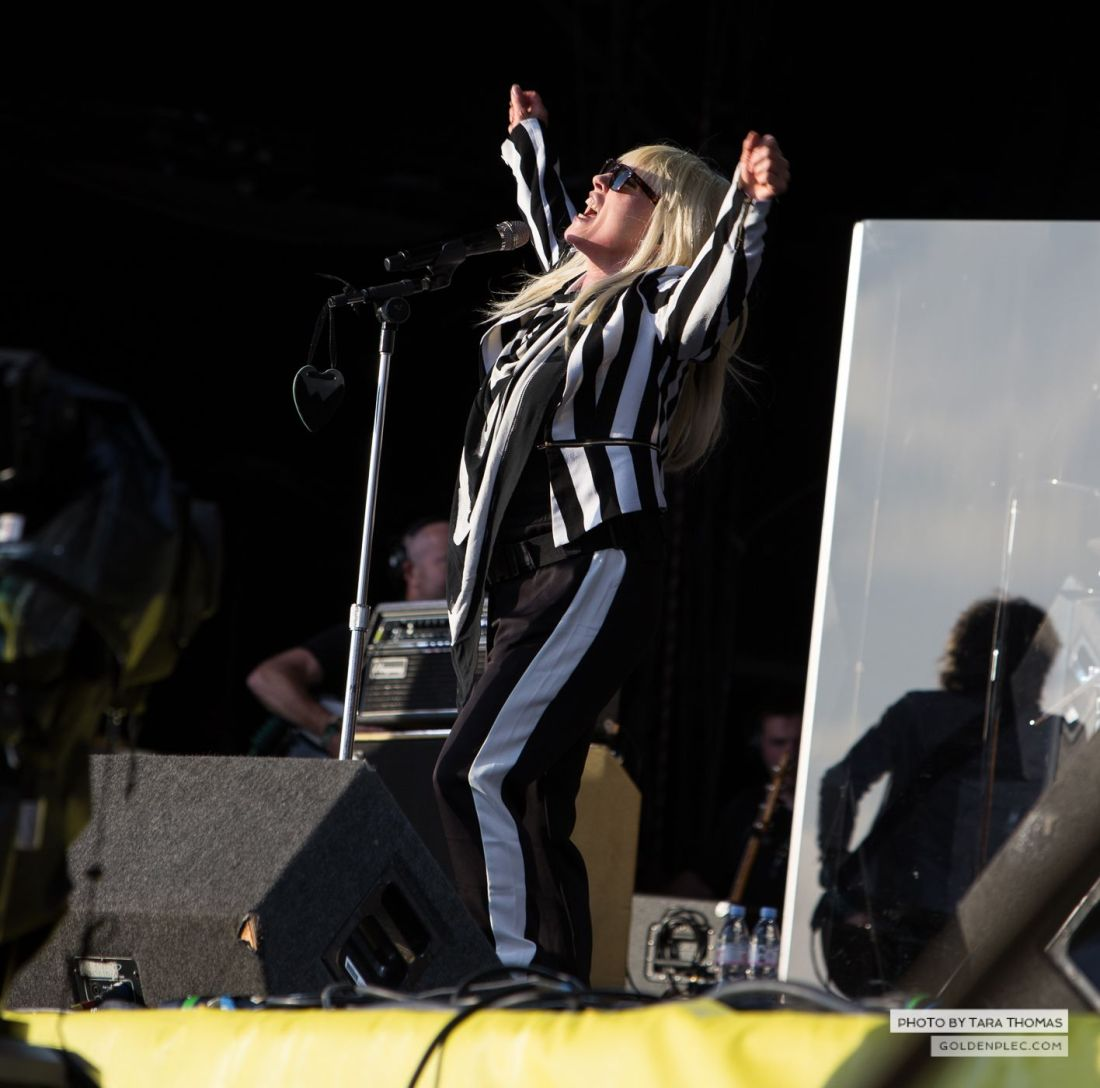 Blondie at Electric Picnic by Tara Thomas
