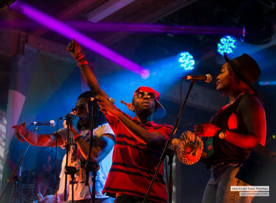 Dublin Afrobeat Ensemble at Castlepalooza by Tara Thomas